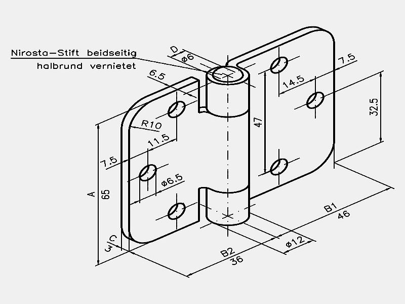 Kaltenbach Hinges Rolled Hinges For Automotive Engineering